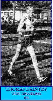 Tom Daintry, Racewalking