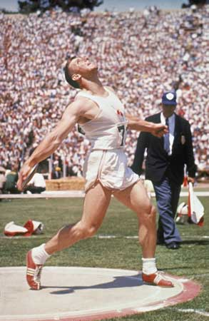 Al Oerter Discus Throw